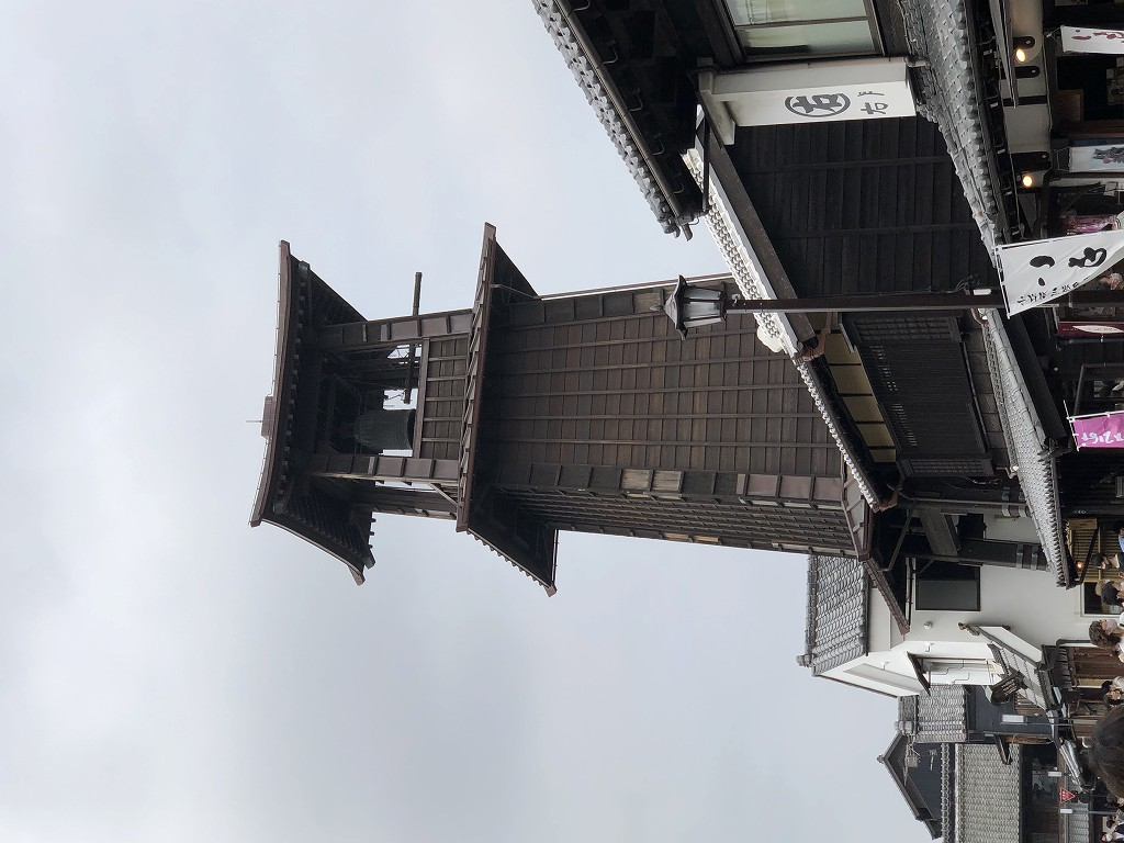 川越の時の鐘周辺2