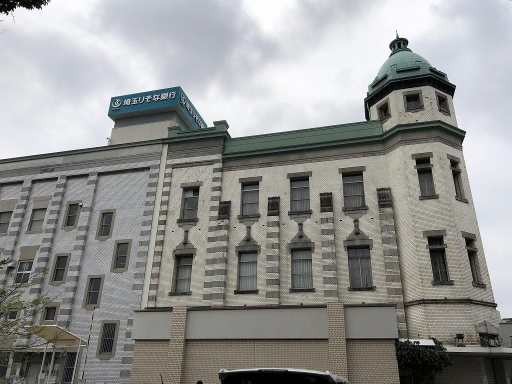旧埼玉りそな銀行川越支店蔵の街出張所2
