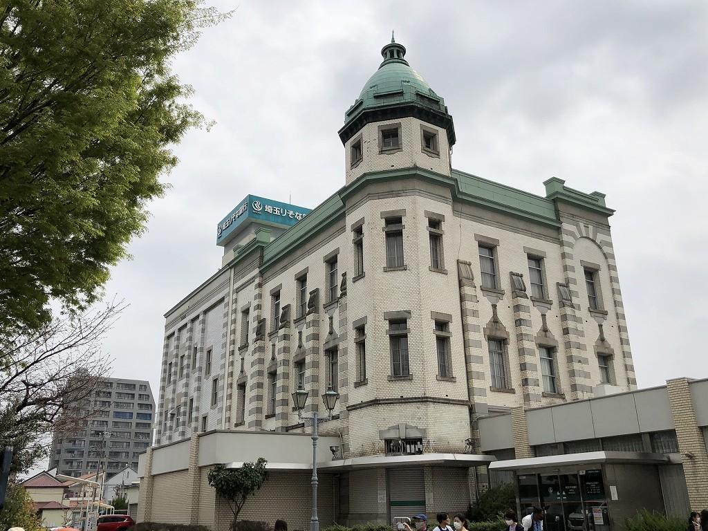 旧埼玉りそな銀行川越支店蔵の街出張所1