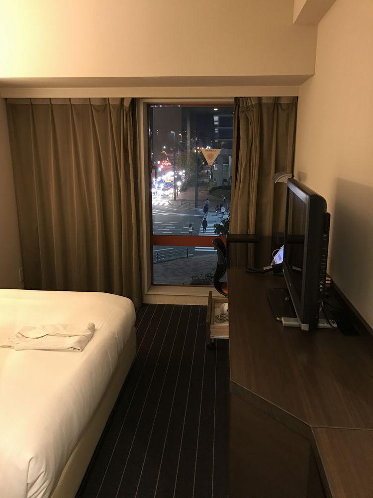 ホテルフォルツァ大分のビズタイプ(窓側)