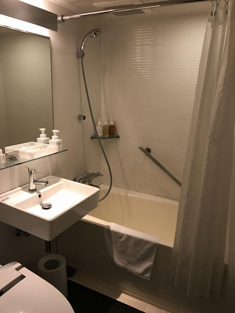 ホテルフォルツァ大分のビズタイプ(バスルーム)