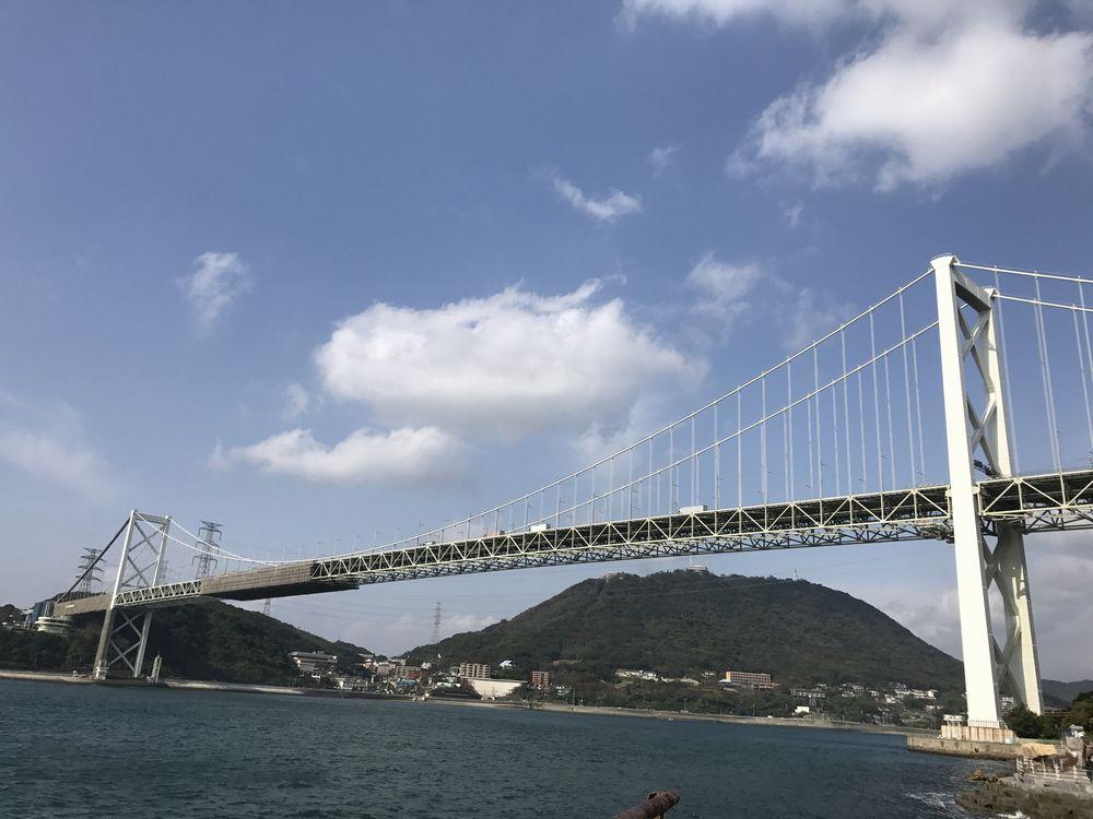 ノーフォーク広場から関門橋2