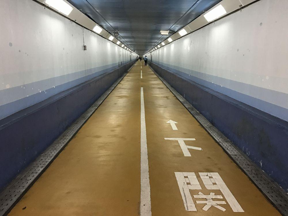 関門トンネル人道1