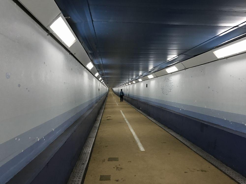 関門トンネル人道2
