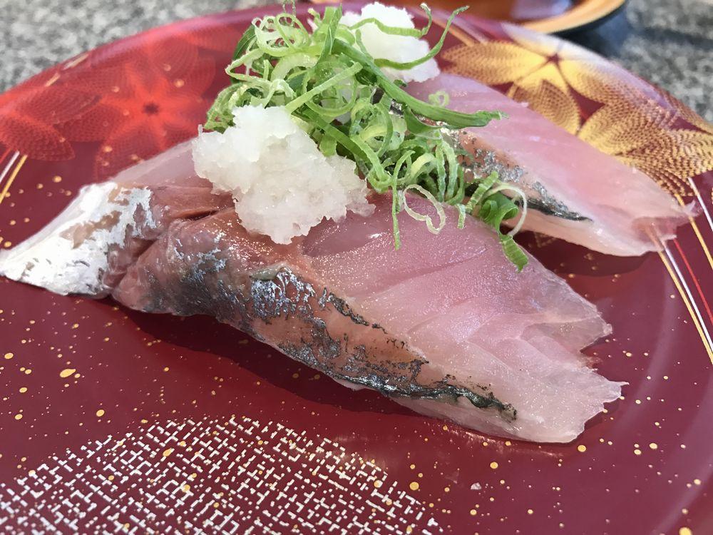 カモンワーフの回転寿司3