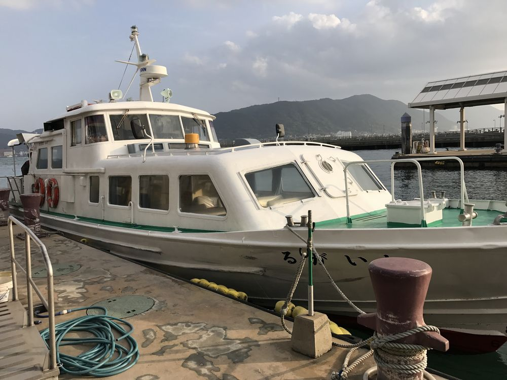門司港行き船