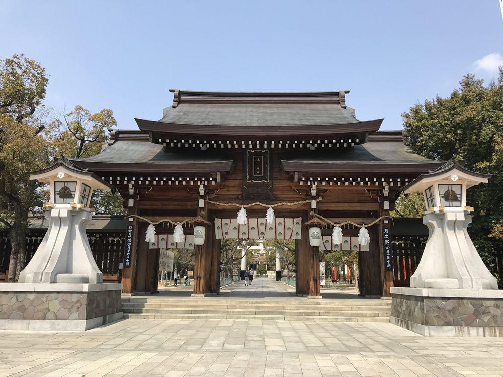 湊川神社の表門