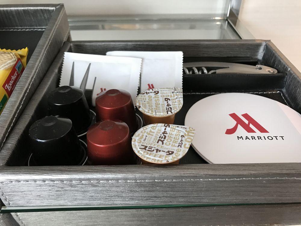 大阪マリオット都ホテルのネスプレッソ