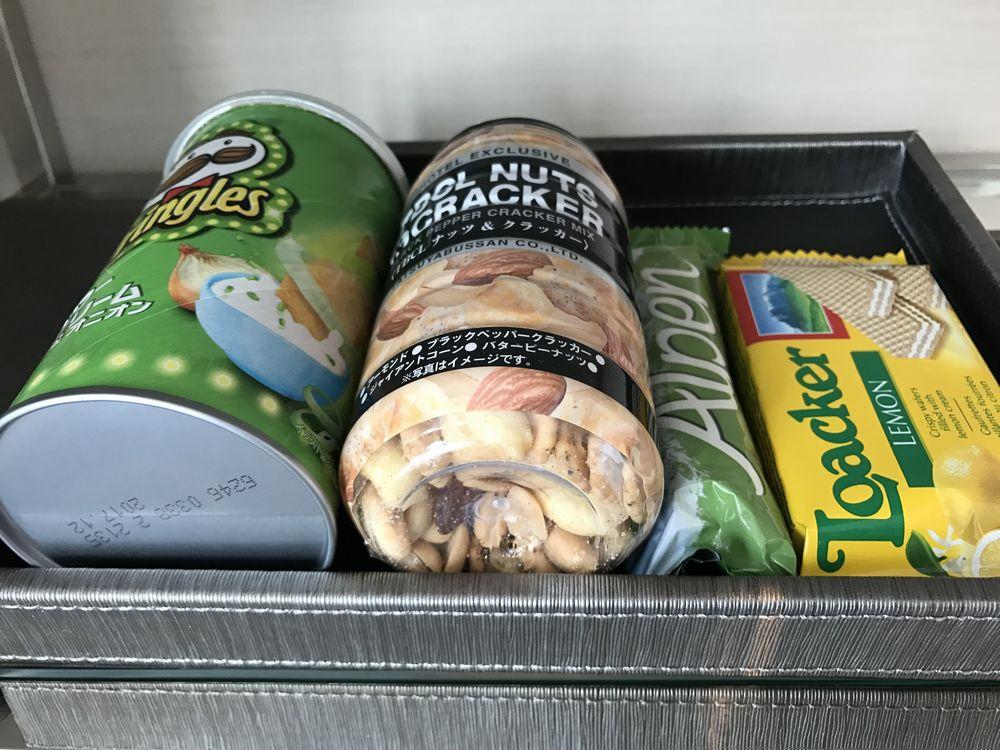 大阪マリオット都ホテルのお菓子類