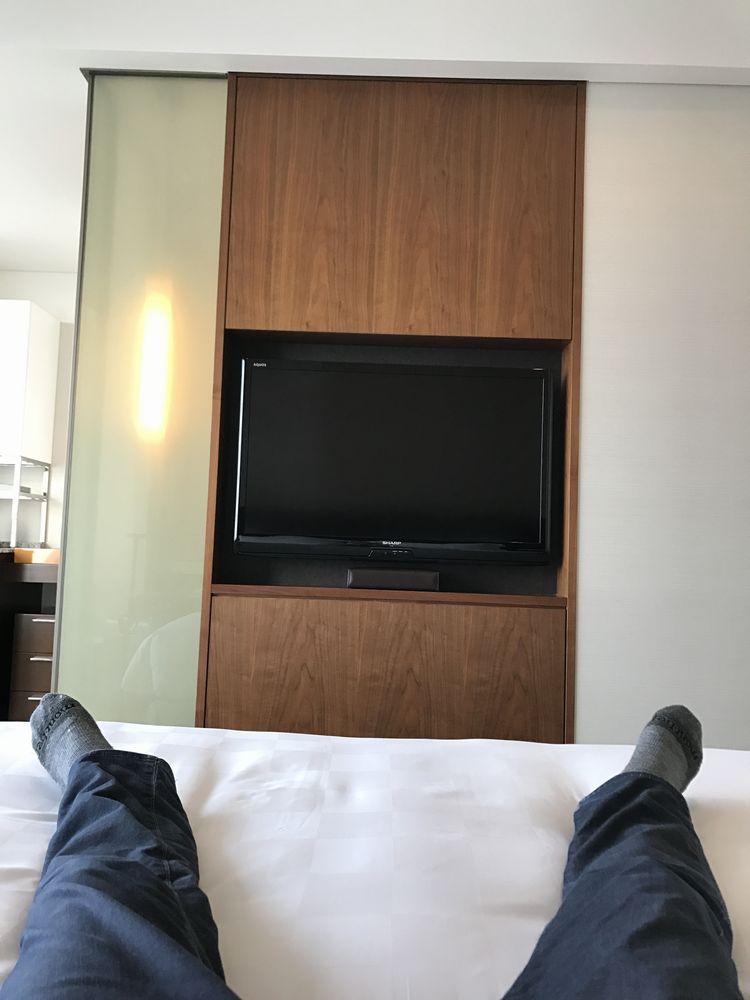 大阪マリオット都ホテルで休憩