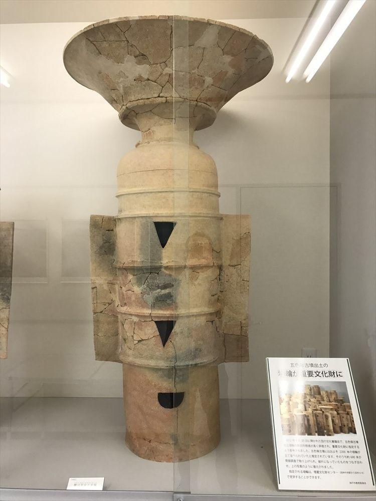 五色塚古墳出土の埴輪