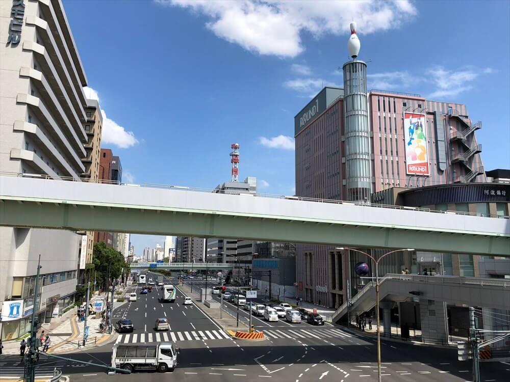 三宮駅前の連絡橋
