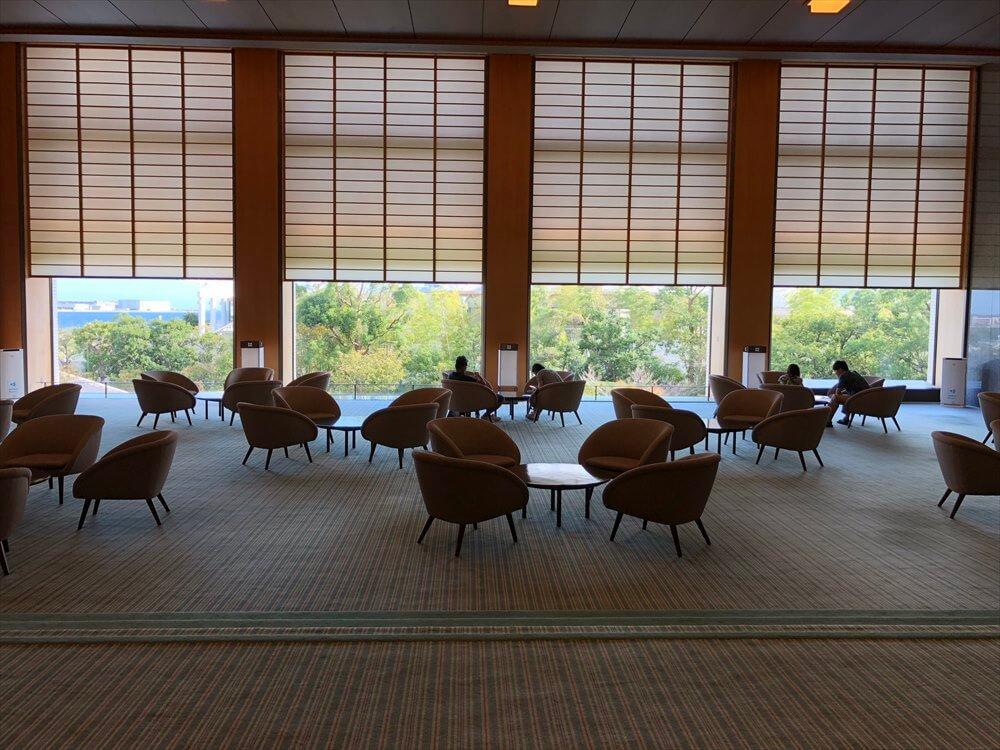 ホテルオークラ神戸のロビー2