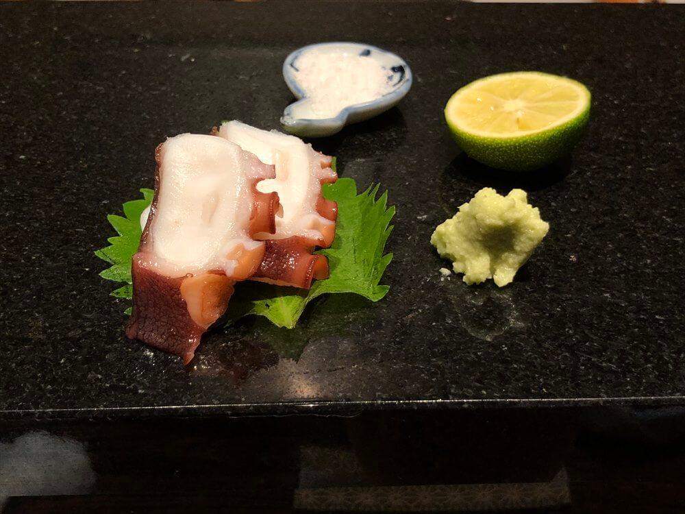 明石 渾 鮨の煮ダコ