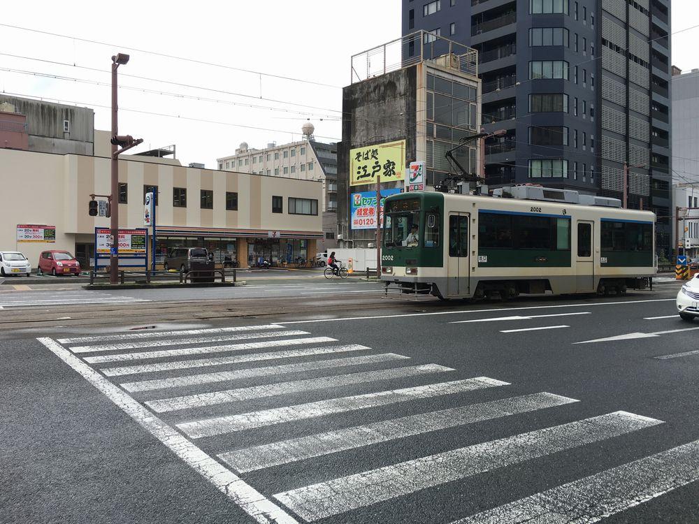 高知市の路面電車