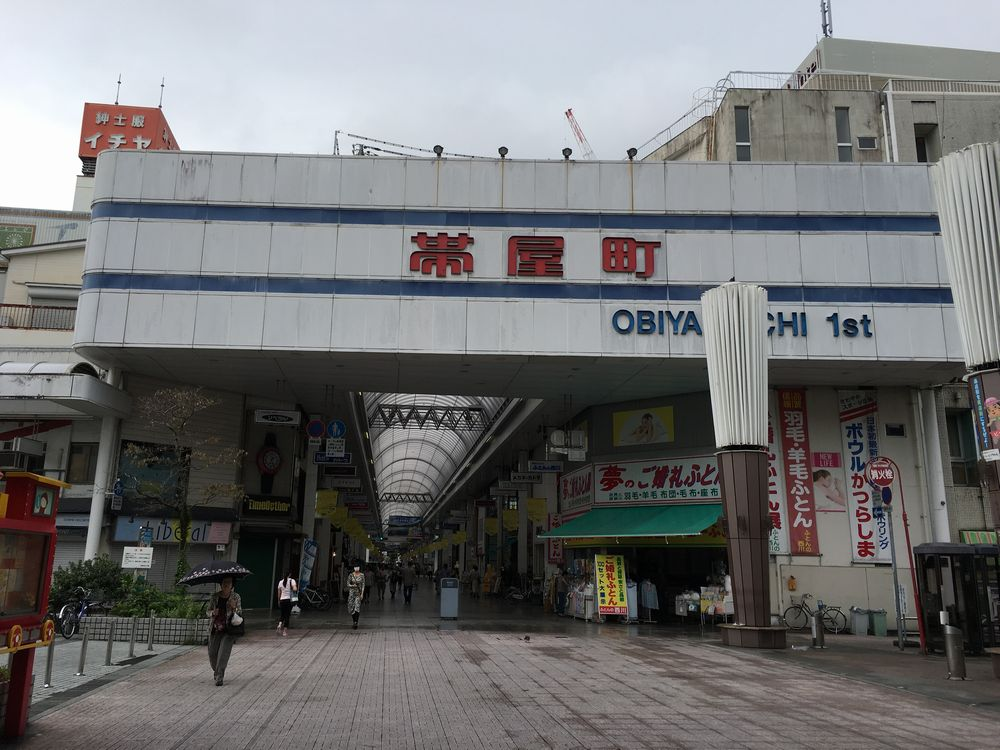 高知市の帯屋町アーケード1