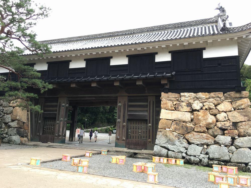 高知城の追手門2