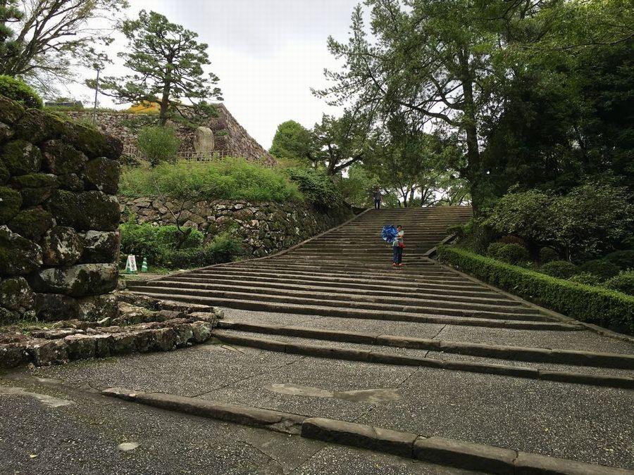 高知城の階段2