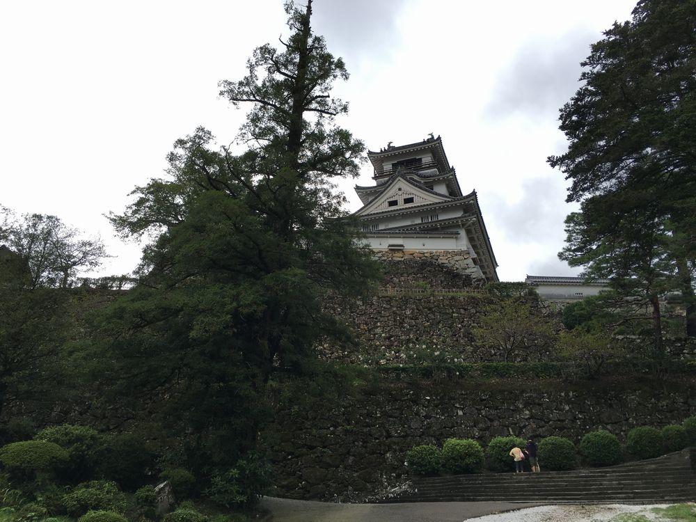 高知城の天守閣1