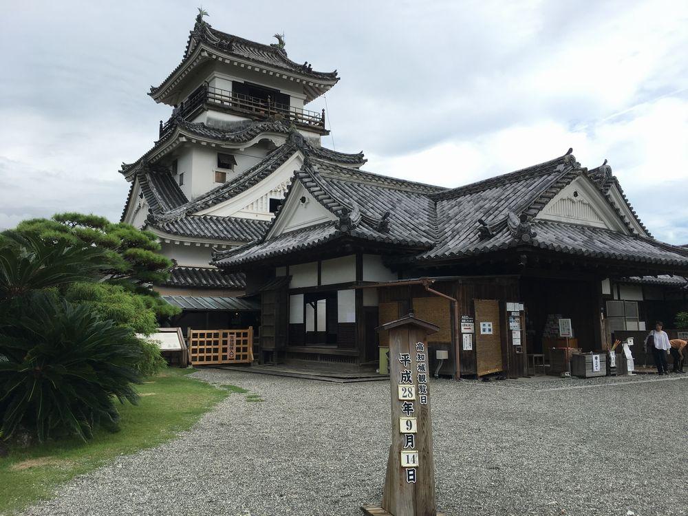 高知城の天守閣2