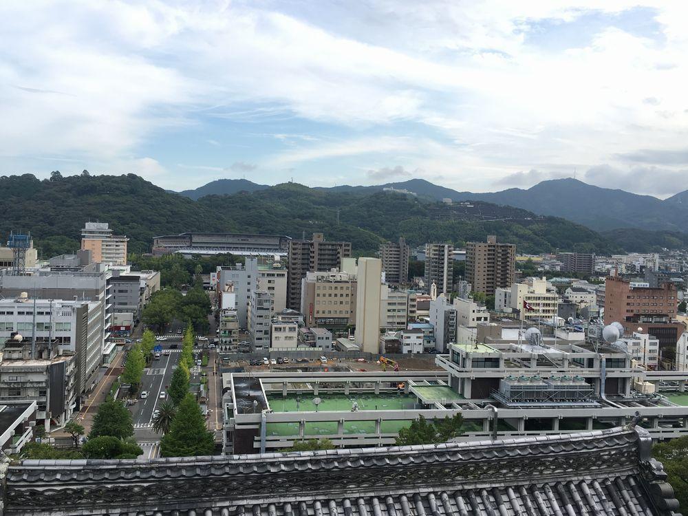 高知城天守閣最上階からの眺め2