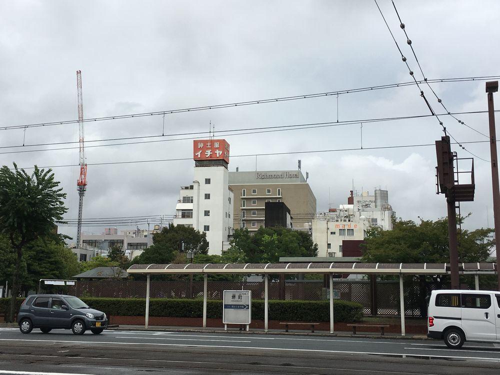 リッチモンドホテル高知(遠景)