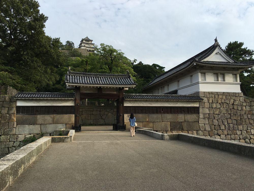 丸亀城の枡形