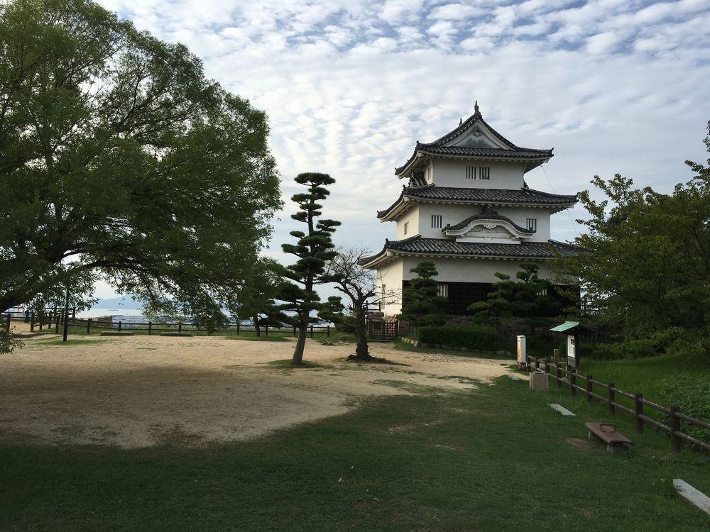 丸亀城の天守閣