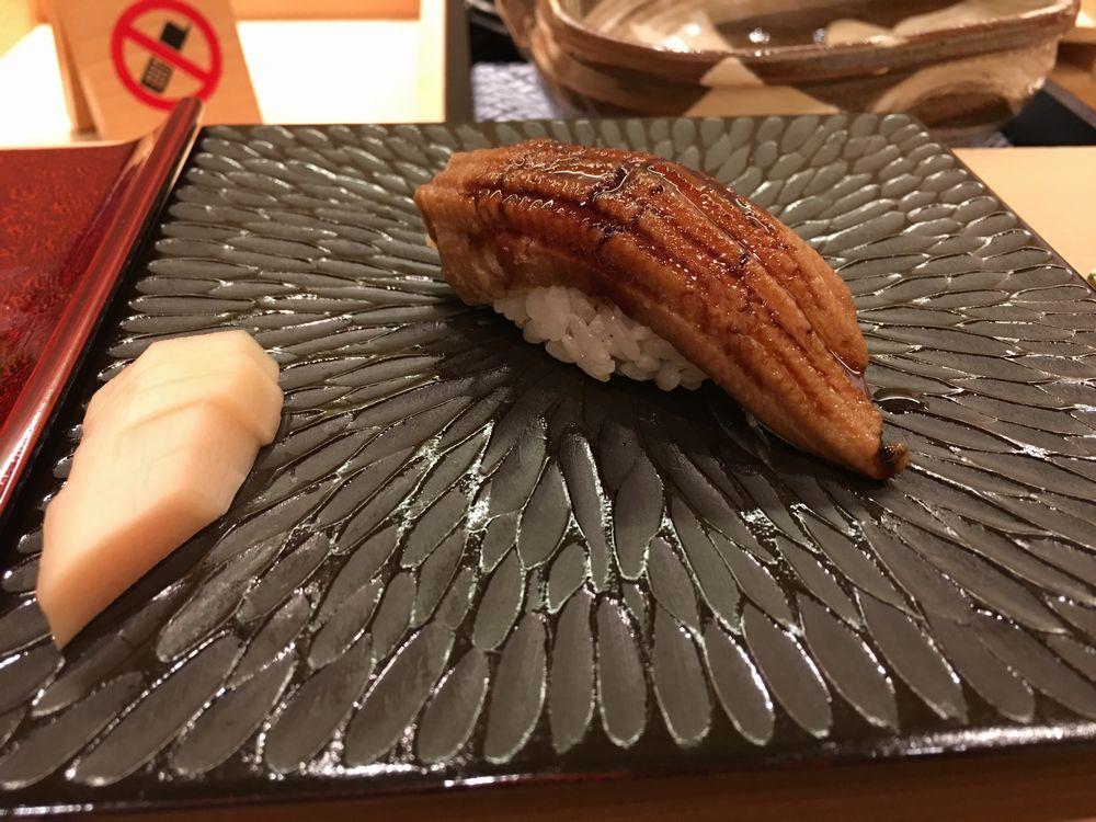 鮨舳のアナゴ