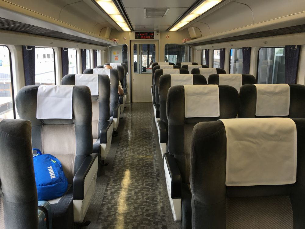 アンパンマン列車(南風18号)のグリーン車