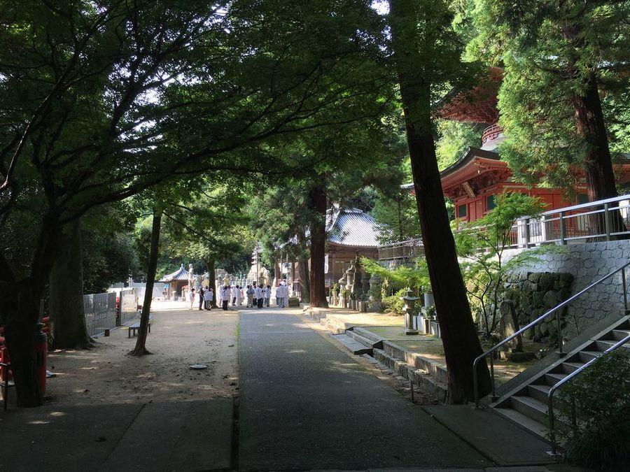 八栗寺のお遍路さん