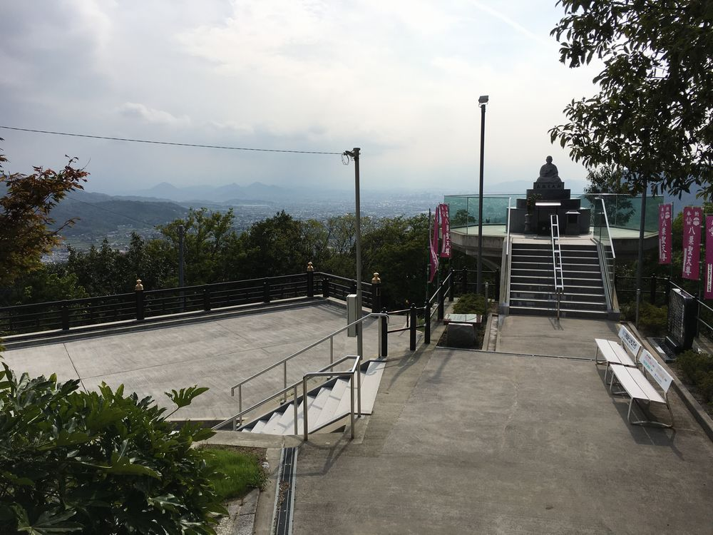 八栗寺の展望台1