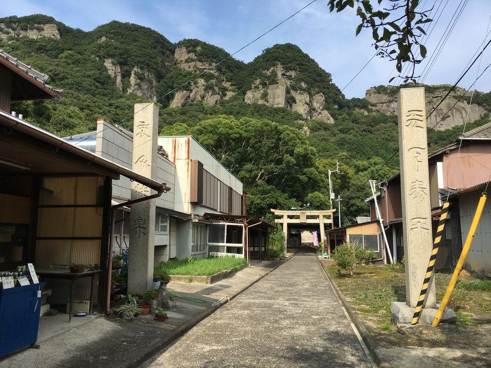 八栗寺の本堂