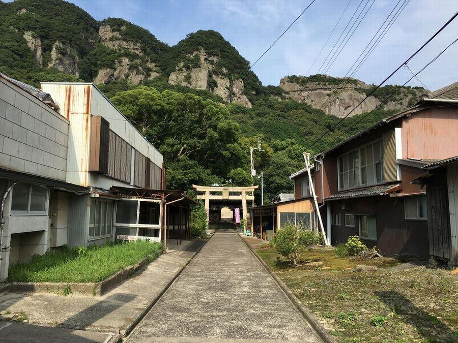 八栗寺の高田屋旅館