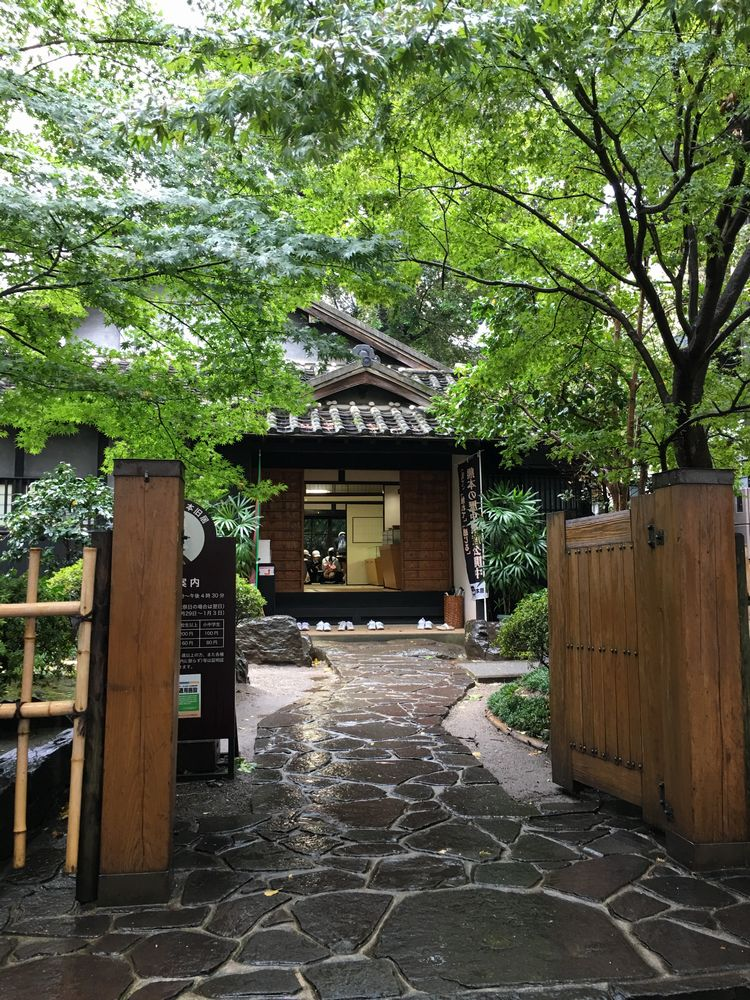 小泉八雲熊本旧居の入口