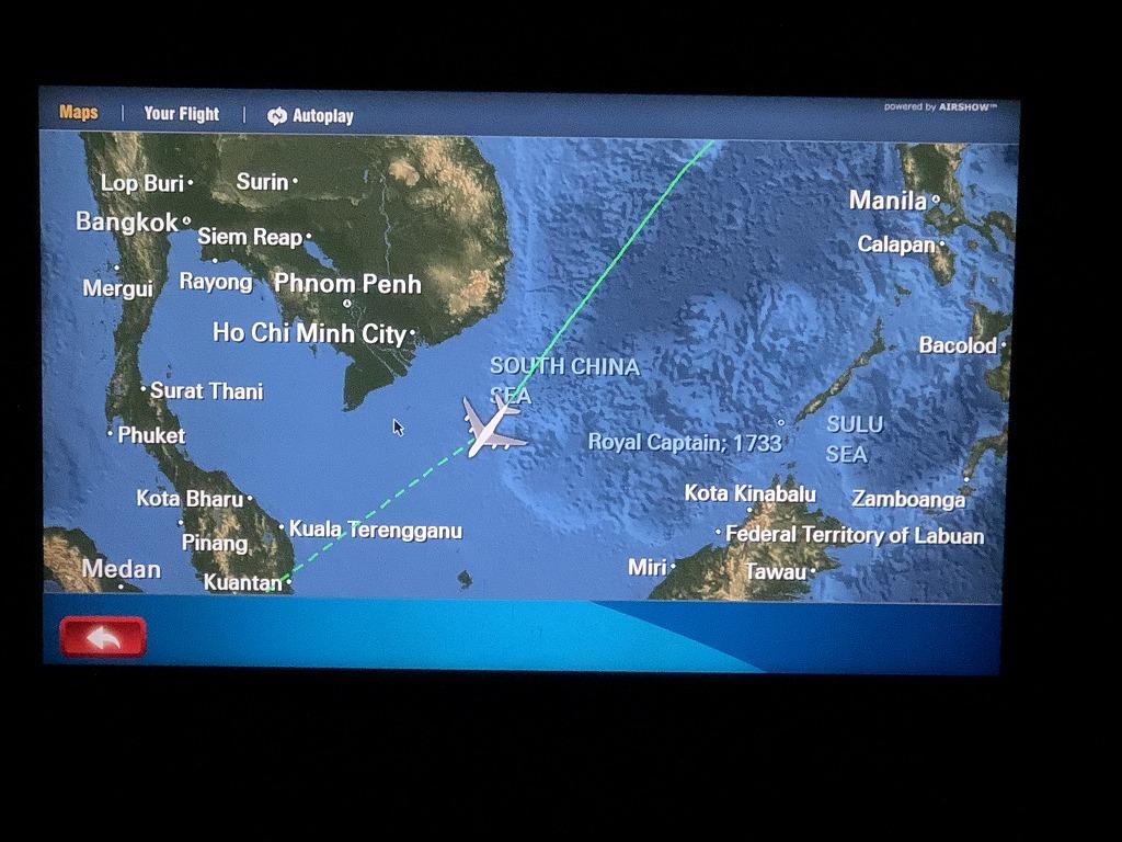 マレーシア航空MH89便の現在地