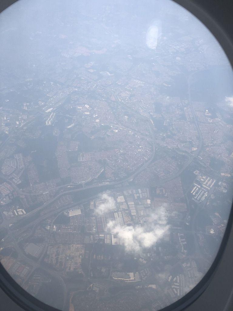 マレー半島上空のマレーシア航空MH89便