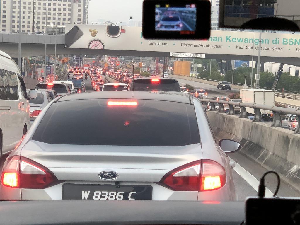 クアラルンプールの渋滞