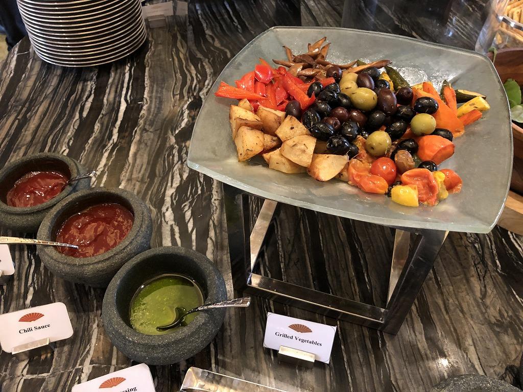 ママンダリン オリエンタル クアラルンプールのクラブラウンジの朝食3