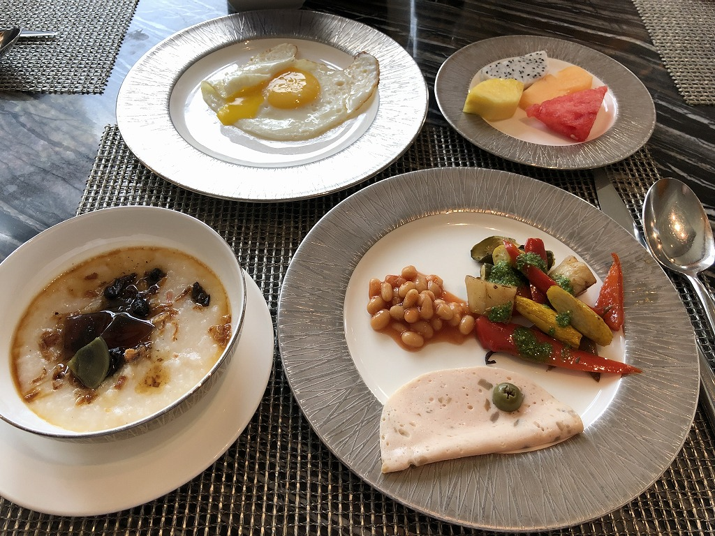 マンダリン オリエンタル クアラルンプールのクラブラウンジの朝食3日目1