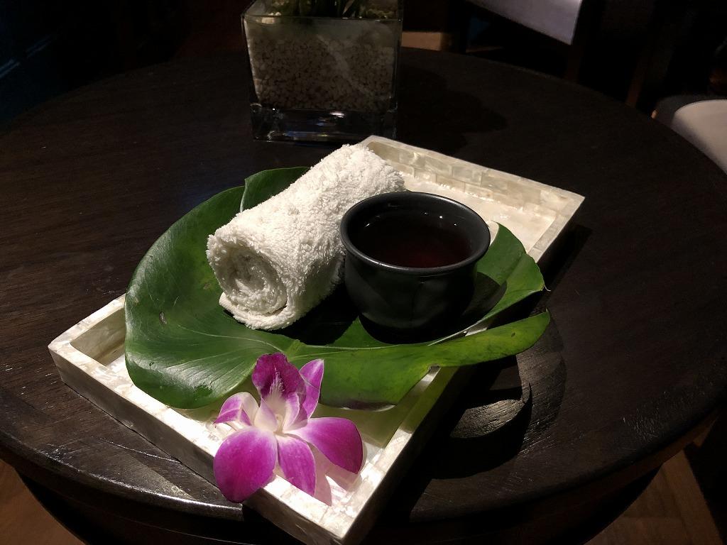 マンダリン オリエンタル クアラルンプールのスパのお茶