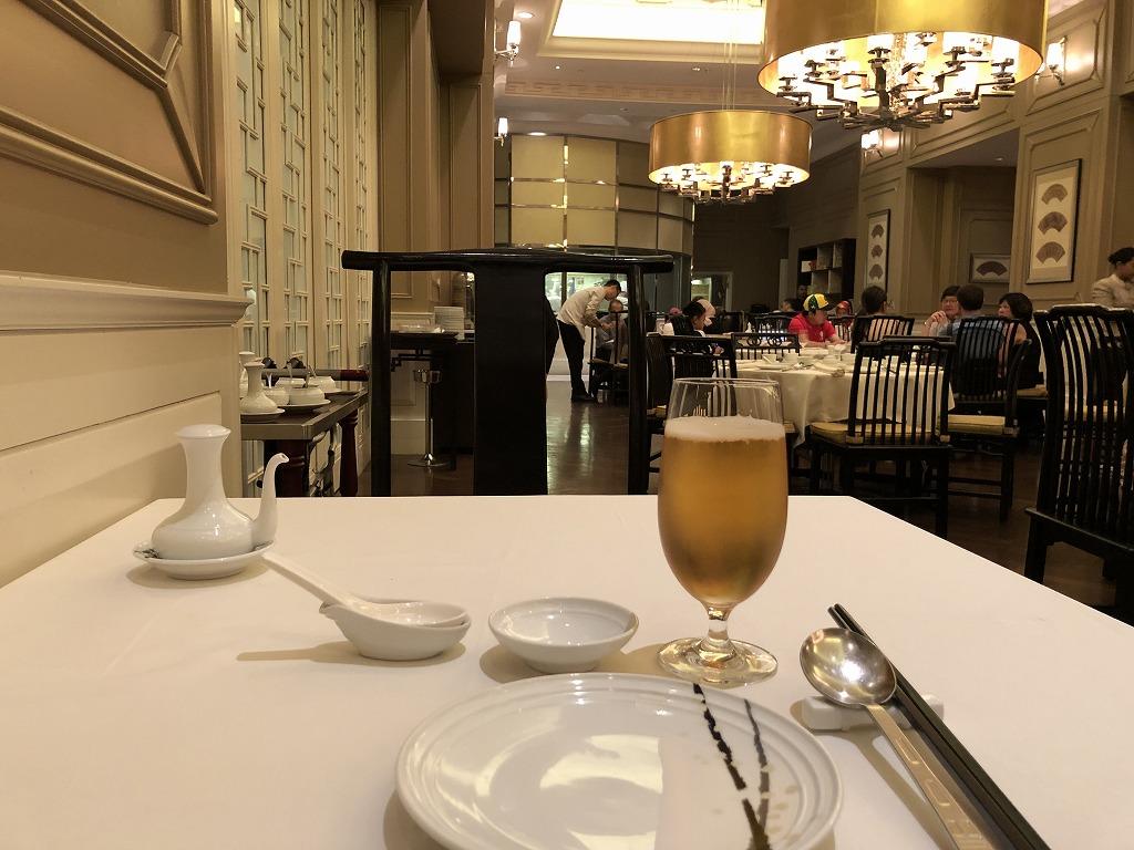 マンダリン オリエンタル クアラルンプールの中華レストラン「LAI PO HEEN」の内観