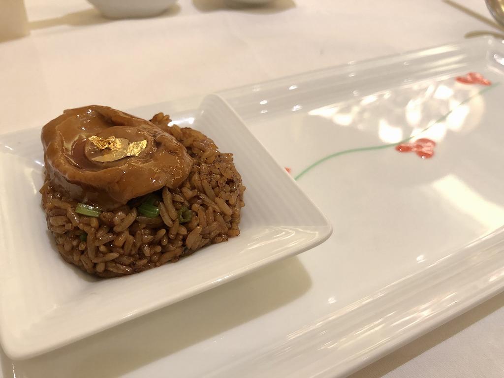 マンダリン オリエンタル クアラルンプールの中華レストラン「LAI PO HEEN」の蒸しあわび