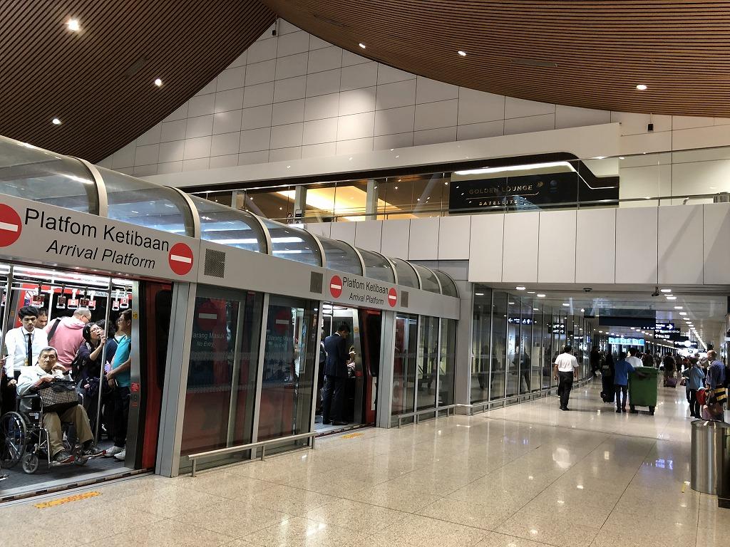 クアラルンプール国際空港の「ゴールデンラウンジ」の場所