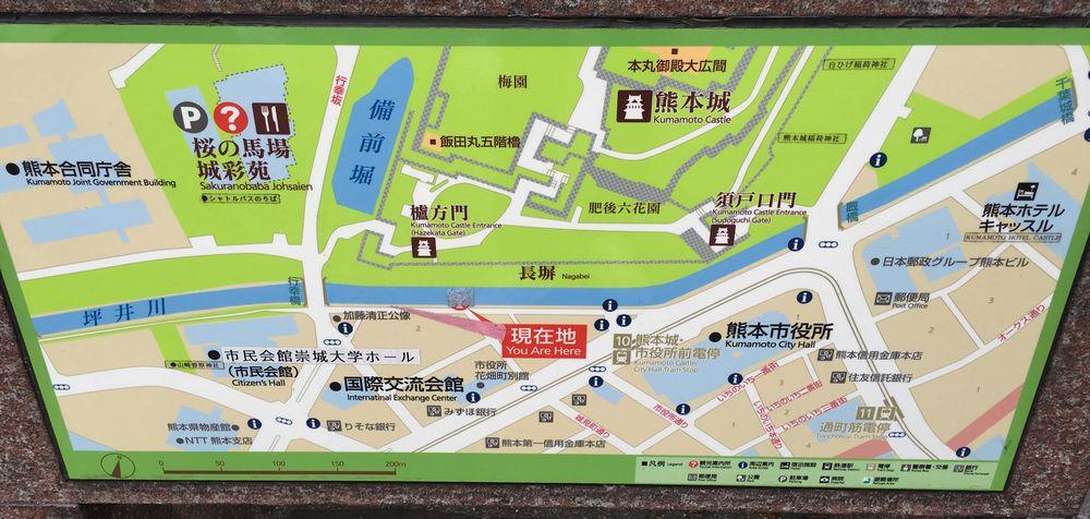 熊本城の位置情報