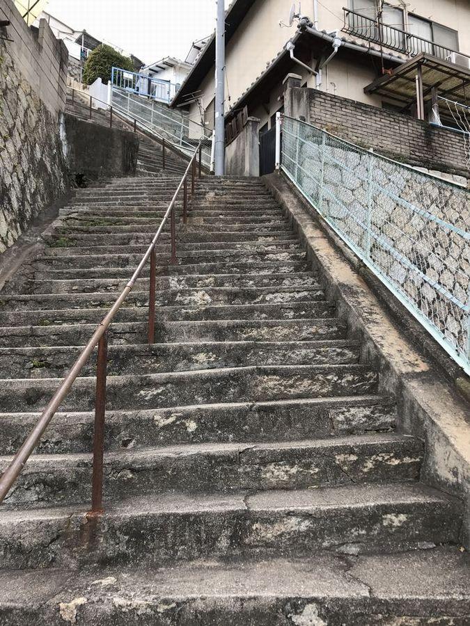 両城の200階段2