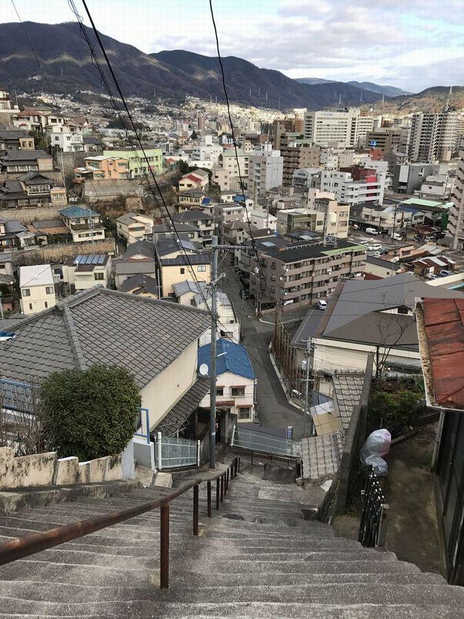 両城の200階段からの眺め3