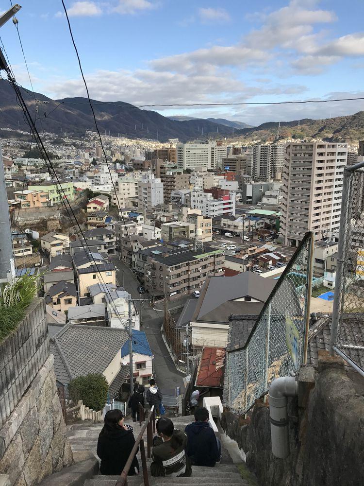 両城の200階段からの眺め4