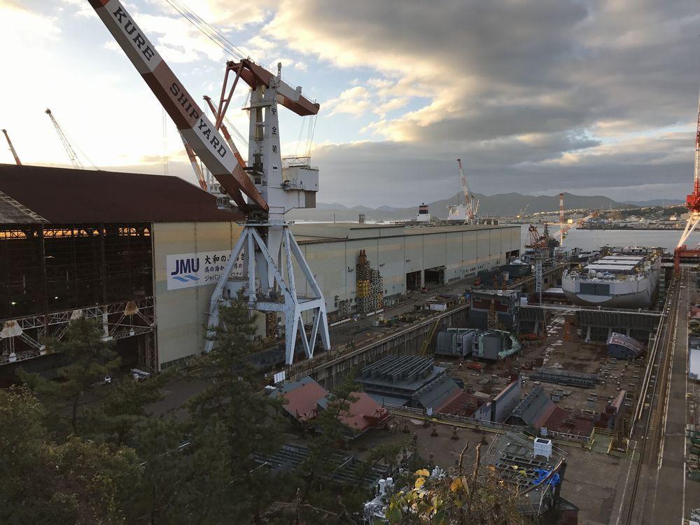 戦艦大和建造ドック2