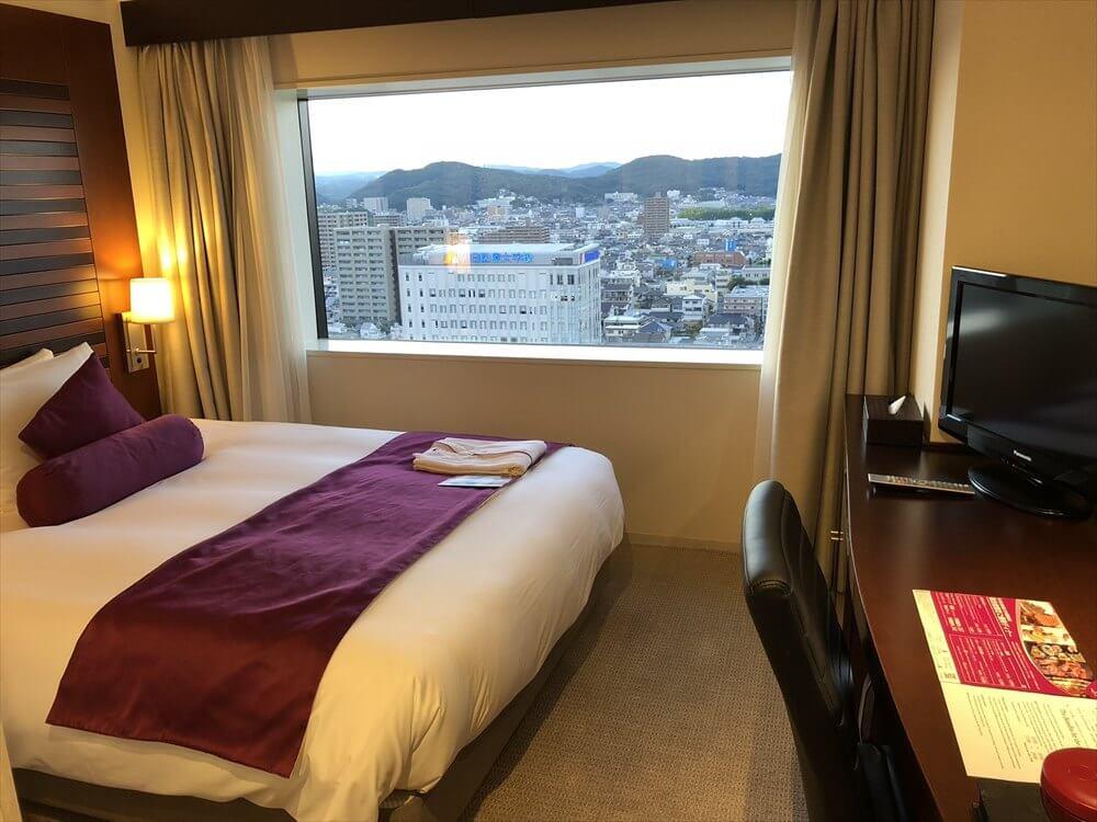 ANAクラウンプラザホテル岡山モデレートダブル1